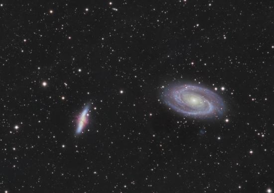M81 et m82 groupe